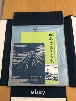 Hokusai Katsushika Japanese Woodblock Print Art Book 46pcs Ukiyoe Vintage Rare