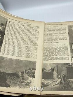 Holy Bible Antique Parallel Column Edition, Rare 1888 -133 Years old Illustrated
