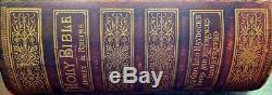 Holy Catholic Bible 1884 Douay Rheims Antique Rare