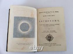 INTRODUCTION TO ASTRONOMY By JOHN ISAAC PLUMMER Rare Antique Victorian Book 1873