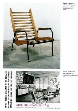 JEAN PROUVE BOOK Galerie Jousse Seguin & Navarra Paris 1998 RARE 1st Ed. NEW