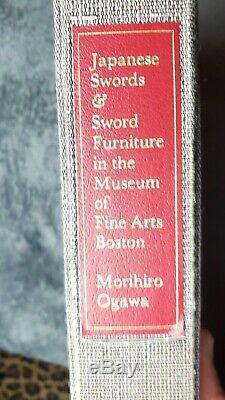 Japanese Swords and Sword Furniture in the Museum of Fine Arts Boston Rare Book