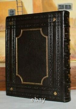 LAYS OF ANCIENT ROME NARRATIVE POEMS/ROMAN HISTORY RARE Antique Fine Binding