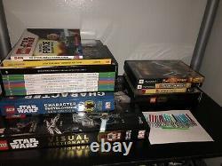 LEGO Star Wars VERY RARE LOT REVAN, CHROME TROOPER, TC14, SHIPS, BOOKS, GAMES