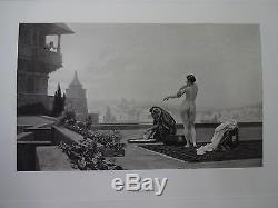 Life & Works of Jean Léon Gérôme RARE 1892 Antique Art Book Photogravures
