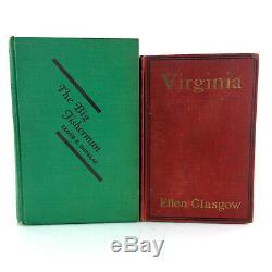 Lot 24 Antique Books Classic Literature Fiction Mixed Set Rare 1St Editions