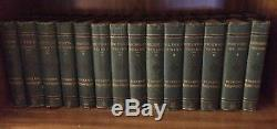 Lot Rare Charles Dickens 1870s Antique Complete Set 30 Volumes Standard Edition
