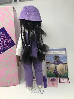 Magic Attic Club Doll Keisha w Box, Book New Necklace Photo Album Etc Rare