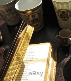 Magnificent Rare Tartan Ware Book Lady of The Lakes c1863 Edinburgh Tartanware