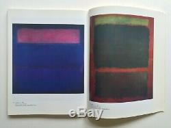 Mark Rothko A Retrospective Rare 1978 1st Edtn Collector's Abst Expr Art Book