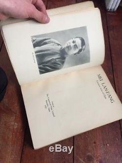 Mei Lan Fang Actor Of China VERY RARE Oriental Antique 1929 Book