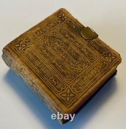 Miniature Holy Bible, 1851 Antique Rare Book, The Thumb Bible Verbum Sempiternum