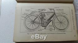 Motorcycles Side Cars Cycle Cars Antique 1915 Edition Book -rare- Indian
