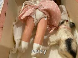 NASB Nancy Ann Storybook Doll JA Bisque 126 Pussy Cat RARE Book Piece, HTF, Box
