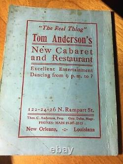 New Orleans Storyville Blue Book Antique Rare Book
