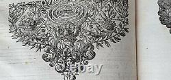Old & rare Antiphonarium Romanum Officio Vesperarum 1651 Richly illustrated
