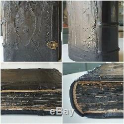 Old & rare Psalter, Slavonic prayerbook, Bible / manuscript, 16th /17th century