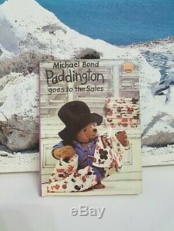 Original Nr. Mint Paddington Stumpy Bear In Rare Pj's + Vintage Book