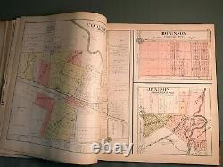 Ottawa County Michigan 1912 Plat Book Complete Rare Very Good Condition