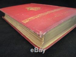 PREHISTORIC AMERICA 1884 Rare FINE BINDING Ancient History ARCHEOLOGY Antique