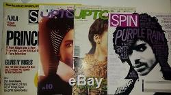 PRINCE Magazines Lot Trojan Horse CDr Finale DVr Purple Reign Tour Books Rare 25