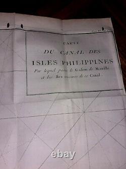 Philippines Antique Rare 1764 book george ansons Voyage Autour Du Monde 2nd ed
