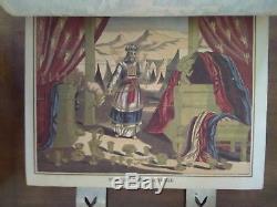 RARE 1884 Antique LEATHER Family BIBLE Haydock DOUAY & RHEIMS Catholic Masonic