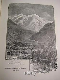 RARE ANTIQUE SCOTLAND TOURIST GUIDE SCOTTISH CASTLES HISTORY highlands 90% ILLST