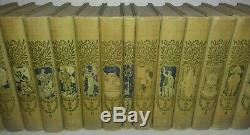 RARE Antique 1902 COMPLETE SET of 20 Young Folks' Library Children's Books
