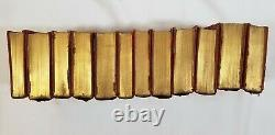 RARE Antique Charles Dickens 12 Book Set Early 1900s Thomas Nelson & Sons