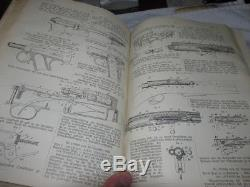 RARE Antique Germany Patent Book Siemens & Halske 1907 gun pistol Mauser, naval