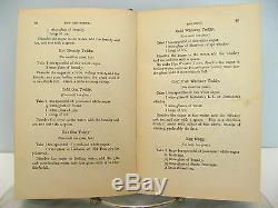 RARE Antique JERRY THOMAS BARTENDERS GUIDE 1887 Dick & Fitzgerald BEHRENS LABEL