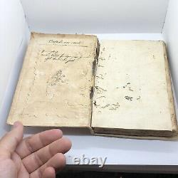 RARE Authentic Antique 1546 Post Incunabula Book Ancient Roman Law Topic Old