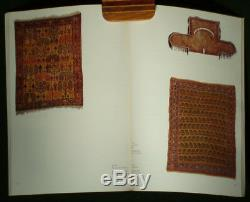 RARE BOOK Oriental Rug Carpet Tekke Anatolia Caucasian weaving Turkoman Lotto
