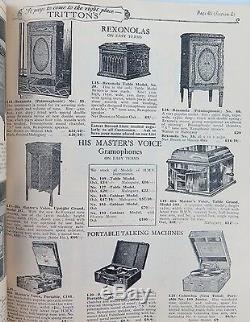 RARE C 1920s F TRITTON, GEORGE ST BRISBANE FURNITURE & FURNISHINGS CATALOGUE