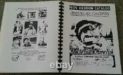 RARE CLYDE A HARBIN 2nd Edition Of Heddon Fishing Catalog Catalogues