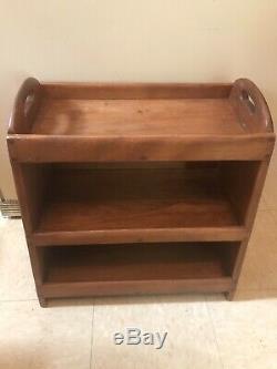 RARE Cushman Mid Century Modern Book Case Shelf Plant Night Stand Furniture Vtg