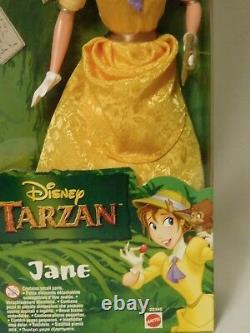 RARE Disney's Tarzan JANE by Mattel 1999 Doll Monkey & Sketch Book 22345 NRFB