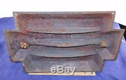 RARE Fancy Antique Cast Iron Dolphin Fish Shaped Book Binders Press