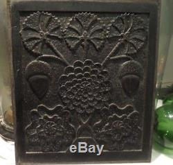 RARE Jacobean 17th Century Carved Oak Panel Ilustrated in R W Symonds Book