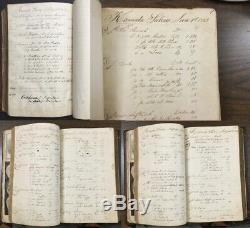 RARE KANAWHA SALINES DAYBOOK Early Kanawha County VA now WV HISTORY 1842 RUFFNER