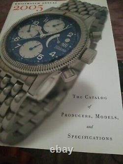 RARE Mens Watch 2005 catalog collection book of mens watches made vintage