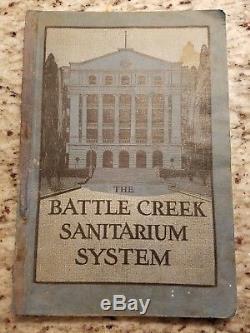 RARE ORIGINAL MEDICAL BOOK! The Battle Creek Sanitarium System