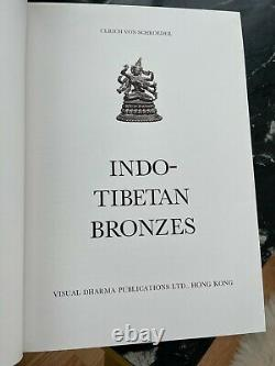 RARE Ulrich Von Schroeder Indo-Tibetan Bronzes Collector Hard Copy Book