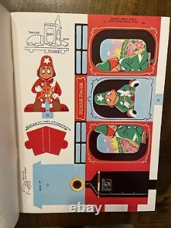 RARE Vintage H. R. PUFNSTUF Whitman Press Out Paper Dolls Book 1970 Unused New