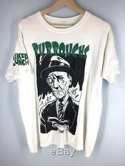 RARE Vintage William S Burroughs Naked Lunch Movie Book Tee Shirt L Large EUC