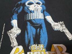 RARE vintage 1989 80s Marvel The Punisher Comic Book Vintage T Shirt