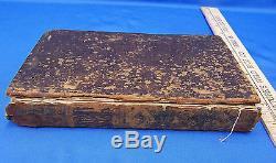 Rare 1685 Antique Book History The Life & Actions Captain Viscount De Turenne
