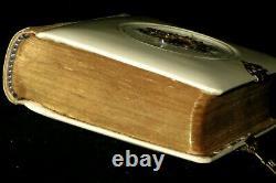 Rare 1857 Antique Jewish German Polish Daily Prayers Book Published In Vienna