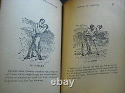 Rare 1888 Antique Book Art Of Boxing With Gloves Science Self-defense Pictures